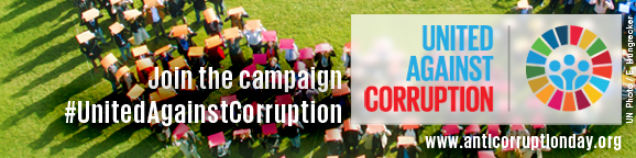 Join the Anti-corruption campaign