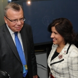 UNODC Executive Director Yury Fedotov with the First Lady of the Dominican Republic, H.E. Dr. Margarita Cedeño de Fernández / Photo: