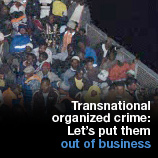 UNODC campaign on transnational organised crime (TOC)
