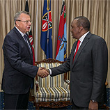 UNODC Executive Director Yury Fedotov met Kenyan President Uhuru Kenyatta, attended the Sixth Tokyo International Conference on African Development (TICAD VI), and launched UNODC's new regional programme for Eastern Africa during a four-day visit to Nairobi, which concluded today. Photo: UNODCman traffickers and migrant smugglers to be stopped as part of overall response to refugee crisis. Photo: UNODC