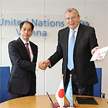 UNODC and Japan strengthen cooperation with eye on security and development, 2020 Crime Congress