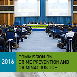 The 25th Session of the UN Commission on Crime Prevention and Criminal Justice (called the Crime Commission) runs from 23-27 May 2016 in Vienna. Photo: UNODC