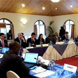 Prosecutors and legal experts from Africa's Great Lakes region lay the foundation for a regional judicial cooperation network. Photo: UNODC