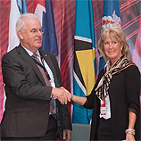 Trinidad and Tobago: UNODC and Crime Stoppers International sign joint MoU. Photo: UNODC