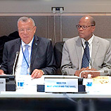 UNODC/ECOWAS jointly launch efforts to support West Africa against drugs and crime. Photo: UNODC