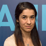 Nadia Murad Basee Taha - who survived trafficking at the hands of ISIL (Da'esh) - was formally appointed UNODC Goodwill Ambassador for the Dignity of Survivors of Human Trafficking on 16 September 2016 in New York. Photo: UN Photo/Eskinder Debebe