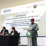 Efforts to improve law enforcement and response to crime in MENA region supported by UNODC