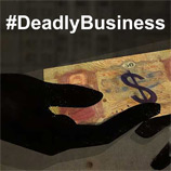 #DeadlyBusiness: UNODC campaign against migrant smuggling launched in Washington DC. Image: UNODC