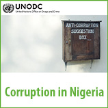 Corruption in Nigeria survey reveals far-reaching impact. Image: UNODC