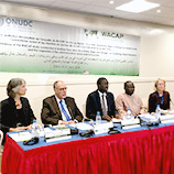 UNODC brings together criminal justice and civil society actors to discuss violent extremism in West Africa. Image: UNODC