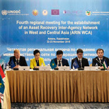 UNODC Supports Launch of Asset Recovery Inter-Agency Network in West and Central Asia targeting illicit wealth in the Region