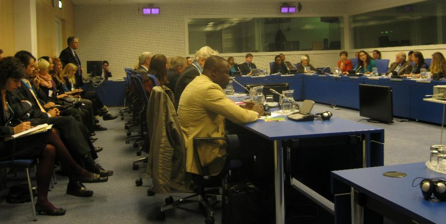 NGOs attending the informal dialogue with the UNODC Executive Director