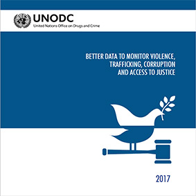 Brochure SDG16 - Better data to monitor violence, trafficking, corruption and access to justice